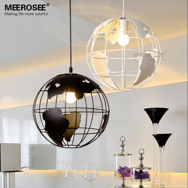 Small Fashion Pendant Chandelier Lustre de teto Restaurant Round Ball Lamp Lighting Fxiture Hotel Bedroom Suspension Light Free Shipping