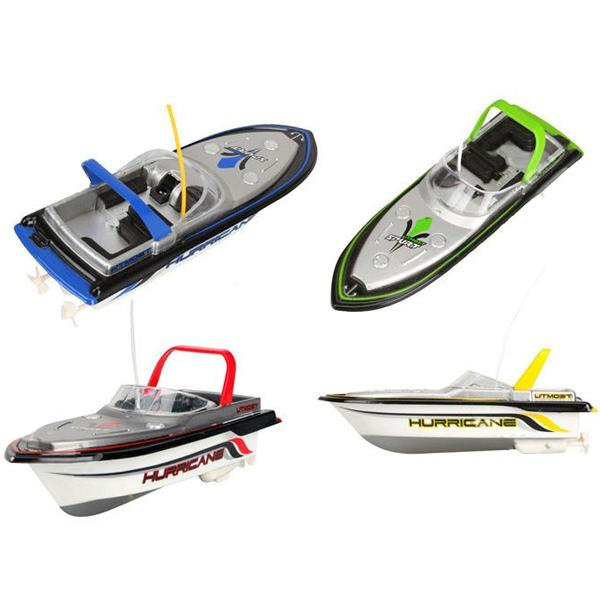 top popular Wholesale-Happy Cow 777-218 Remote Control Mini RC Racing Boat Model 2020