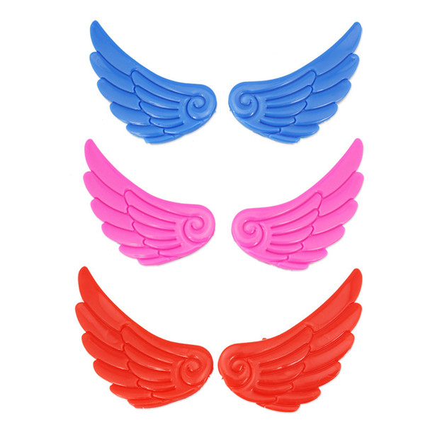 1 Pair NEW Roller Skate Shoes Wings Ornament Decoration Skating Accessories Little Wings Lovely Cute For Kids Adult