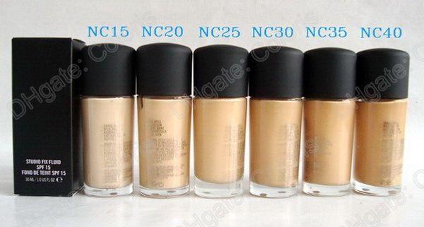 Top Qualité Studio Fix fluide Fond de teint NC Coloris trouvé De Teint 30Ml avec embout professionnel assorti