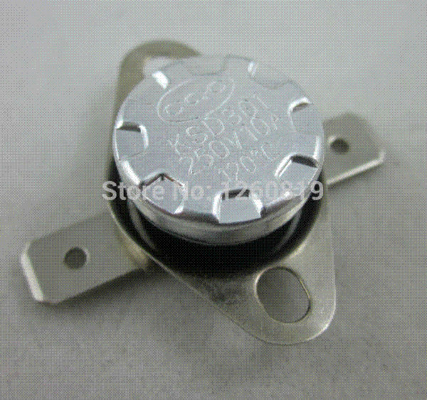 5Pcs KSD301 Thermostat Normal Open NO Temperature Thermal Temp Control Switch UK