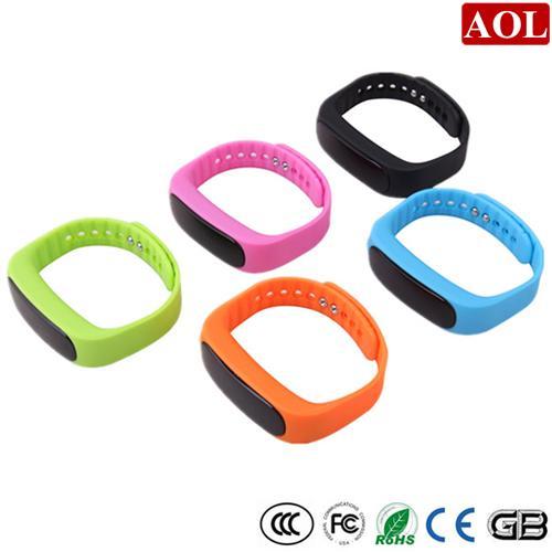 Smart Watch E02 Smart Wrist Smartband Waterproof Bluetooth 4.0 Fitness Tracker Health Bracelet Sports Wristband Gear For Android IOS Phone