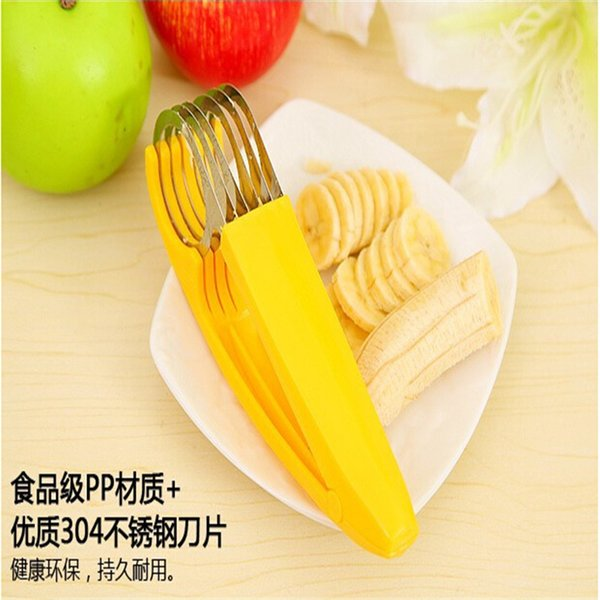 2016 New Kitchen Gadgets Slicer Cuisine Household Kitchen Appliances Lazy Life Practical Essential Gadget Cut Bananas