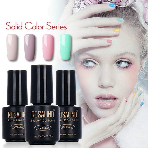 Brand Black Bottle 7 ML Pure Color 58 Colors 31-58 UV Gel Nail Polish Nail Long Lasting Gel Macaron Gel Polish