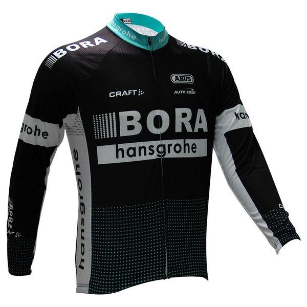 Inverno 2017 abbigliamento ciclismo 2017 Bora pile termico ropa ciclismo invierno bicicletta mtb ciclismo invernale maglia manica lunga giacche sportive