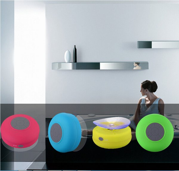 Waterproof Wireless Bluetooth Portable Shower Speaker Colorful for iphone 5 5s 5c 4 4s samsung HTC MP3 MP4