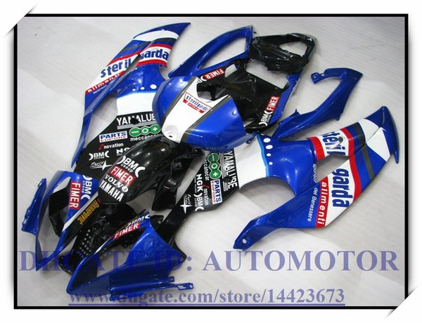 Injection molding brand new fairing kit 100% fit for YAMAHA YZFR6 YZF600 2008 2009 YZF R6 08 09 YZF R6 2008 2009 #CH929 BLUE BLACK