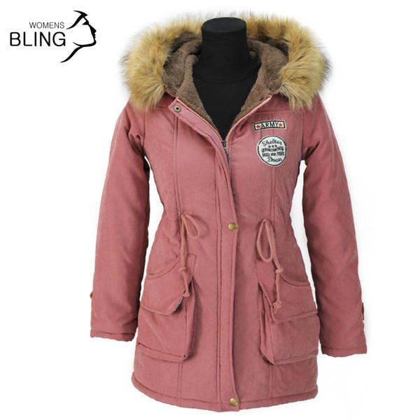2017 Wholesale Thickening Parkas Winter Jacket Women Coats Female ...