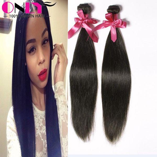 Silky Straight Hair Style Weaves Packaging Virgin Human Hair Cheap