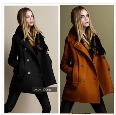 2017 2016 Coat For Women Winter Wool Coats Ladies Jacket Jackets ...