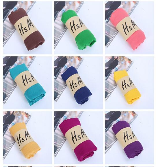 50PCS autumn winter Korean woman Pure color scarf ladies headband Cotton and linen scarf 20colors huge 180*75cm hot sale free shipping