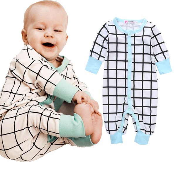 Kids Baby Boy Girl Soft Cotton Bodysuit Romper Jumpsuit Outfit Clothes