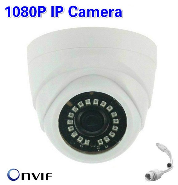 HD 2.0MP 1080P CMOS Megapixel Network Indoor IP Dome Camera Night Vision IR CCTV Camera New Smart LED