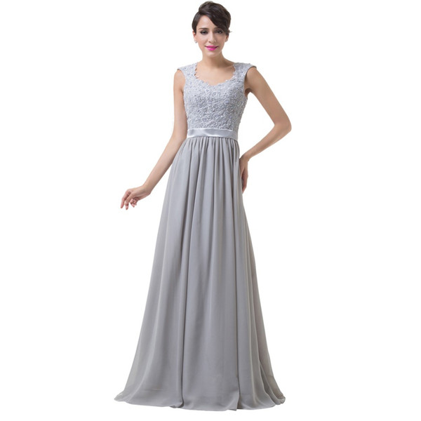 Blue Grey Purple Mother of the Bride Dresses 2019 Cap Sleeve Chiffon Long Evening prom Gowns for Bride Mother Dress free shipping