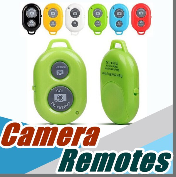 Bluetooth Selfie Self-pole Remote Shutter Smart phones Remote Camera Control Wireless Self-timer Shutters for Selfie Monopod Sticks