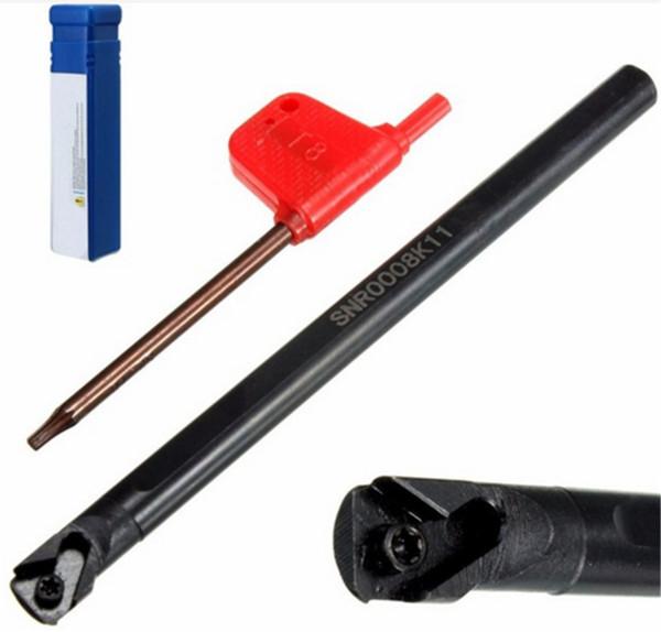 SNR0008k11 Резьбонарезных скучно бар поворота инструмент держатель для 11 ИК 1/4 токарный станок 125 мм x8mm новый Ручные инструменты
