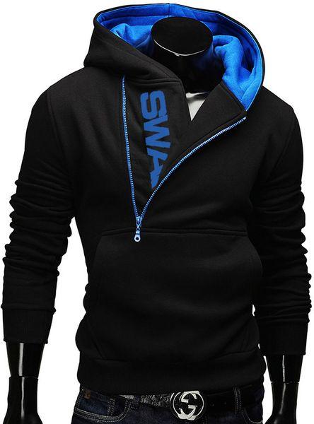 Toptan-2016 Yeni Hoodies Erkekler Kazak Erkek Eşofman Kapşonlu Ceket Casual Spor Kapşonlu Ceketler moleton Assassins Creed M-5XL 6 renkler