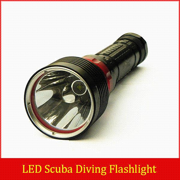 2015 New!!! SKYRAY 2000Lm Scuba Diving CREE XM-L2 LED Dive Flashlight Torch Light Lantern For Diving + 2x 18650 + Charger