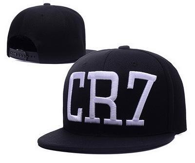 2016 Yeni Cristiano Ronaldo CR7 mavi Beyzbol Kapaklar, hip hop Spor Snapback şapka unisex düz ağızlı şapkalar ayarlanabilir CR7 Sıcak Noel Satış ...