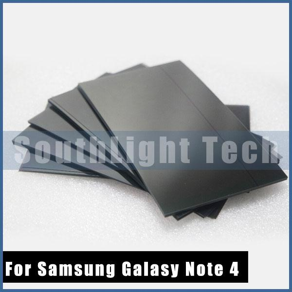 Samsung Galaxy Not 4 Için 100% Orjinal Garanti N9100 LCD Polarize Film N910 N910V N910T LCD Polarize Polarize Film Laminasyon Parçaları