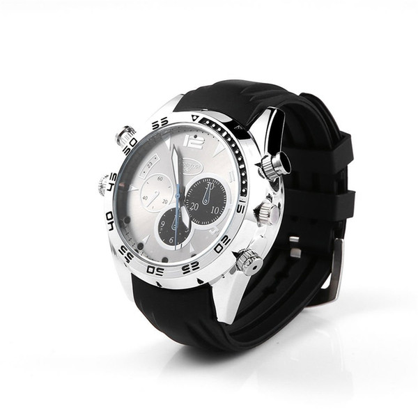 32GB HD 1080P Mini reloj de pulsera cámara reloj impermeable Video Recorder bolsillo Mini DV videocámara portátil de visión nocturna con grabación de voz