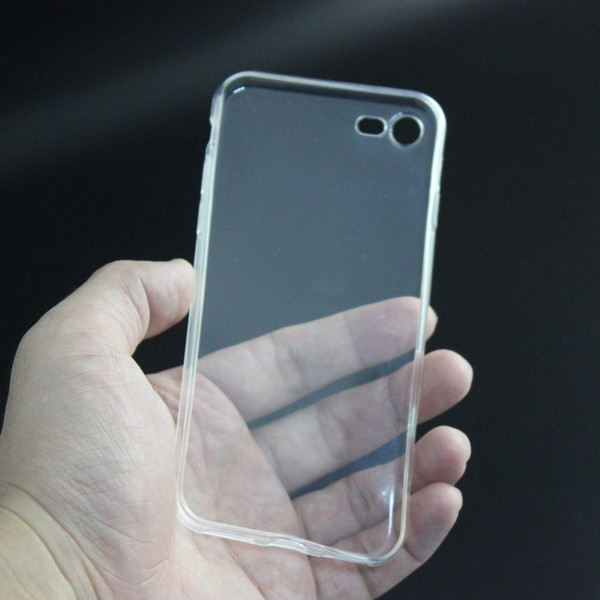 """top popular Clear TPU Transparent Soft Case Rubber Cover Silicone Cases for 4.7"""" 5.5"""" iPhone 4 4S 5 5S 5C 6 6+ i7 Plus Samsung S7 S6 Edge Free Shipping 2021"""