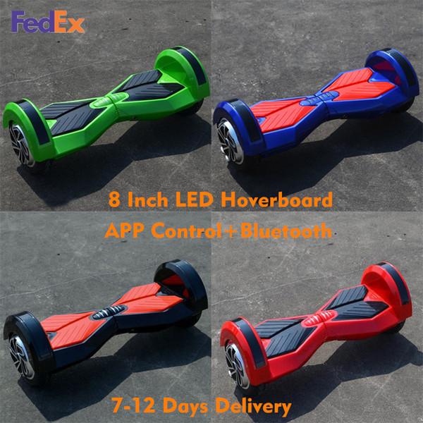 Großhandel Bluetooth Hoverboard Smart Balance Wheel 8 Zoll ...