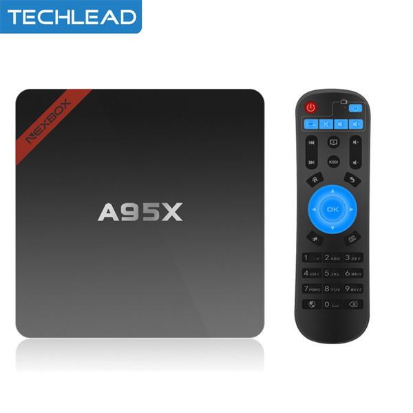 Android 7.1 Smart TV Box Quad Core UHD 4K H.265 Mini PC WiFi LAN Media Player