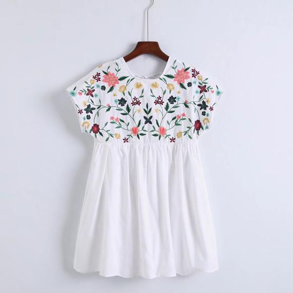 Mamelucos moda bordado de una sola pieza mujeres 6056 0511