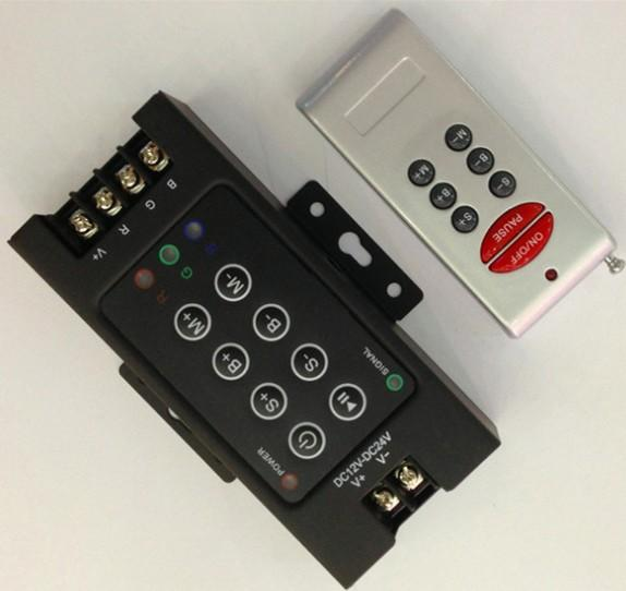 Yeni Varış DC 12 V-24 V 30A 8key RF LED denetleyici için RGB Led ışık / RGB Led şerit DHL ücretsiz kargo LLFA