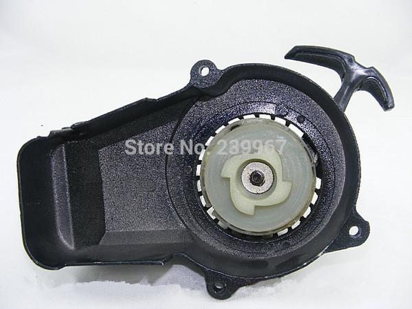 Recoil starter 4 teeth easy start for 1E44F-6 44F-6 49CC 2 stroke free shipping SQ49ST petrol pull start scooter mini bike parts