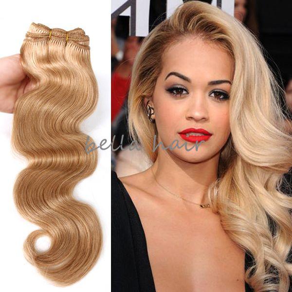 "Body Wave 14""-22"" Brazilian hair malaysian indian peruvian hair Colored human hair weft hair Extensions 100g/p free shipping"