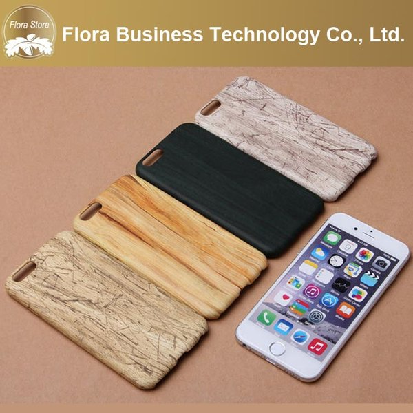Luxury Cheap Price MOQ 30pcs Mix 7 Style Wood PU Soft Phone Case for iPhone 5 6 7 7plus X/XS XR MAX