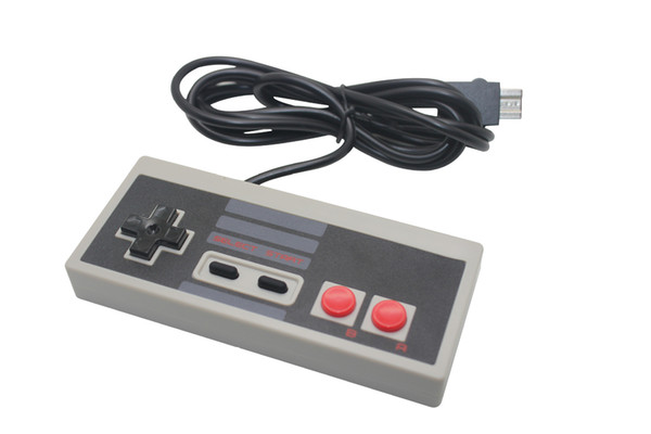 top popular Wired Retro Style Game Controllers Game Joystick Cable Gamepad for NES NES Mini Classic Edition Game Console 2019