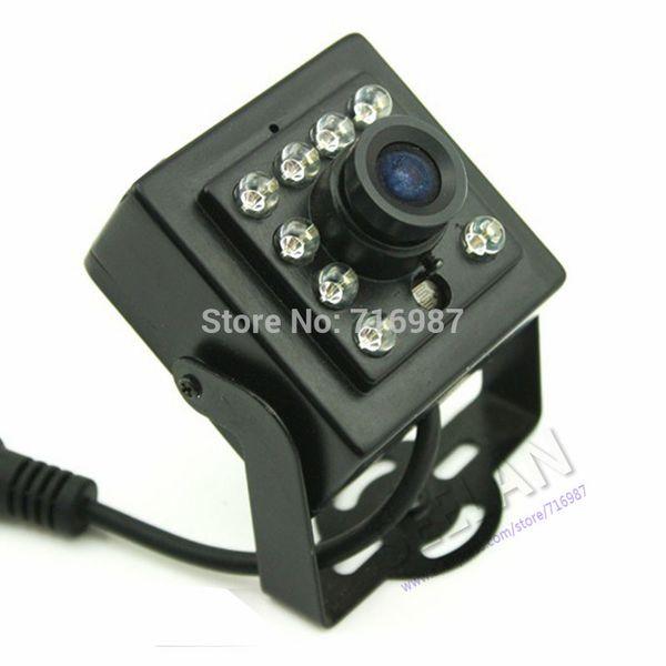 SONY CCD 700TVL Night Vision Mini IR Camera 1/3'' Sony Ccd Security CCTV Mini IR Camera CCD with 10Pcs IR 850nm Infrared 0.1LU