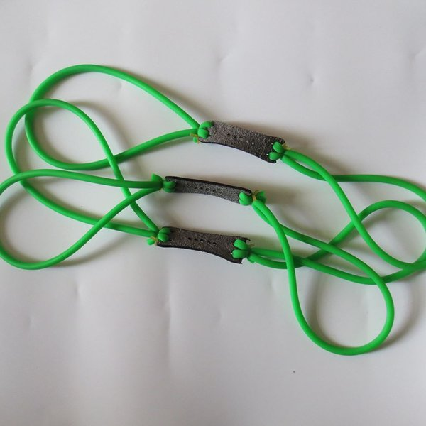 5 pieces rubber Green Natural Latex Replacement Rubber Band Tube for Outdoor Hunting Slingshot Catapult rubber Slingshot sinews