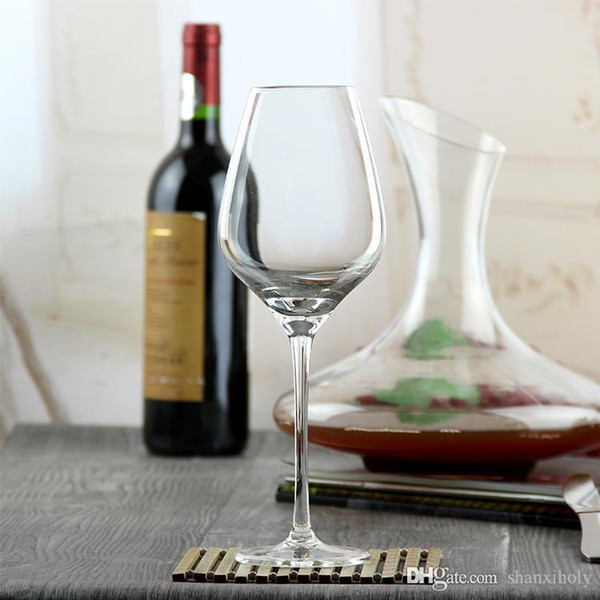 Holy crystal red wine glass long stem glass cup