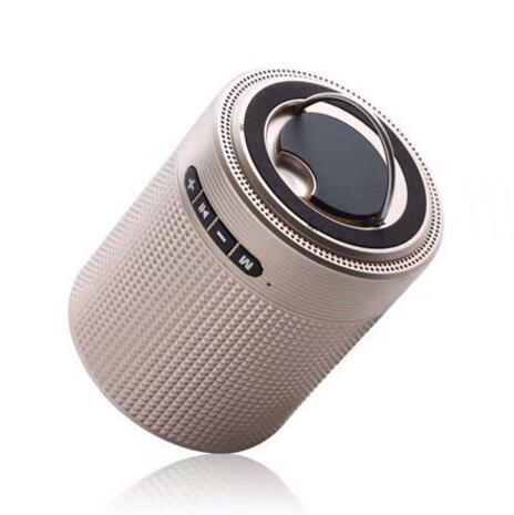 Portable Mini Wireless Bluetooth Speaker Q6S HF-Q6S Bass Smart Speakers Handsfree with Mic FM Outdoor Speaker TF Card for Phone