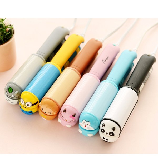 Cartoon Mini Flat Ceramic Electric Plywood Straight Hair Styling Tools Straight Hair Clip Curly Sticks Ceramic Hair Splint