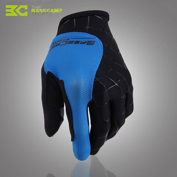 BASECAMP Full Finger Cycling Glove Men Women Breathable Road Mountain Bike Bicycle MTB Motorcycle Windproof Sports Gloves H5077