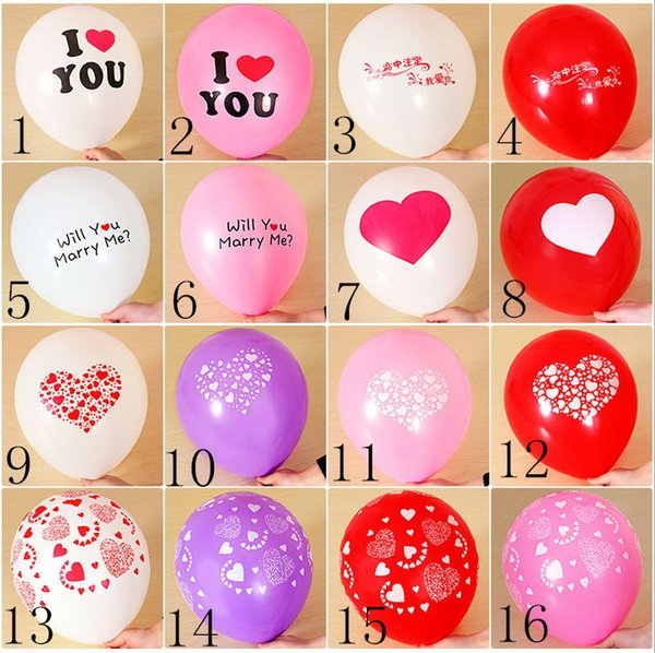 Wholesale Wedding Supplies Balloons Aluminum Coating Festival