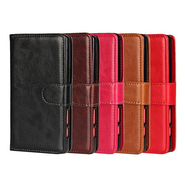 Case For Sony xperia Z5/ Z5 Mini/Z3/Z3 Mini/ xperia xz Case Cover 2 in 1 Detachable Magnetic Flip Leather Wallet case Mobile Phone bag Cases