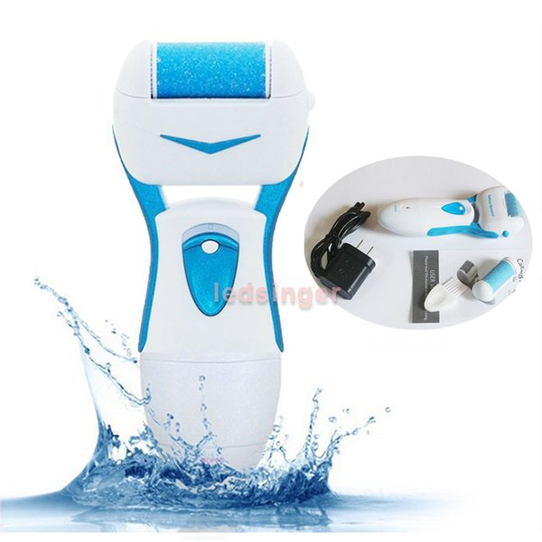 2016 upgrade! rechargeable foot callus remover calluses dead skin peeling scrub exfoliator pedicure feet smooth care tool