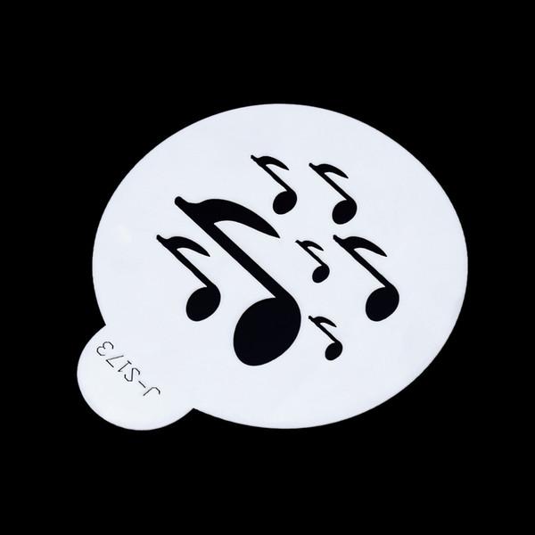 ANSELF Torta Stencil con nota di musica torta pratica di muffa ...