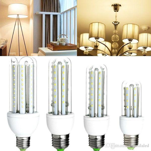 Lampadine LED Candelabri Lampadine CFL 3W / 5W / 7W / 9W / 12W / 16W LED Corn ampolla ampolla E27 Lampadina