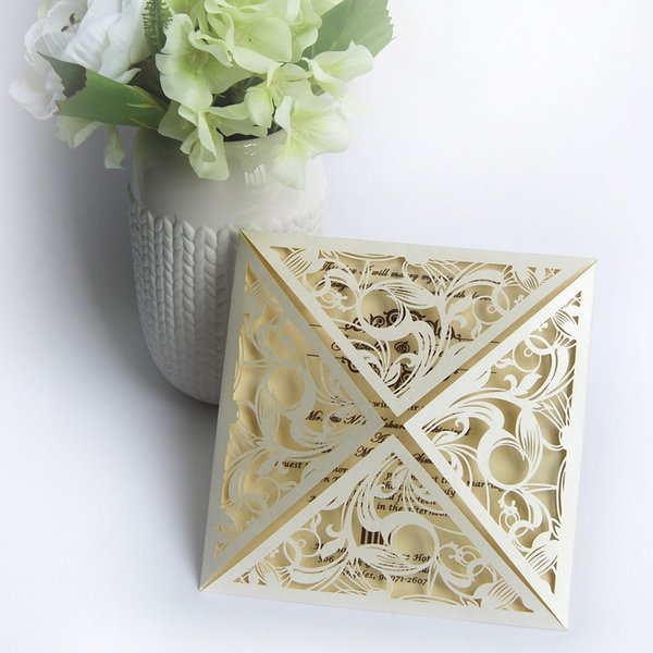 Wedding Card Suppliers Paper Cutting Visiting Card Luxury Party – Luxury Party Invitations