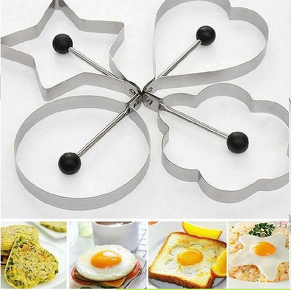 Egg mold shaper anneau pancake acier inoxydable moule cuisson cuisine outils x 1