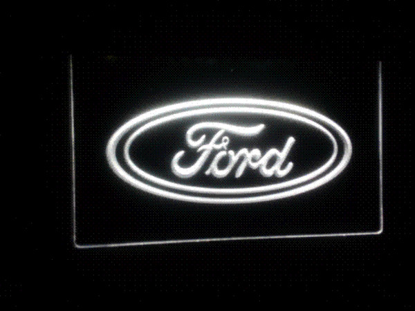TR-02 Ford LED Neon Sign cosmétiques gros sac à main dropshipping dropship dropship dropship argent