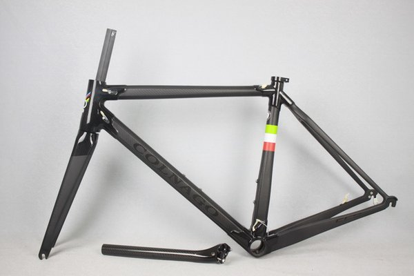 Best Quality Bb386 Cyclocross Carbon Frame Di2 Internal Cable Ruting ...