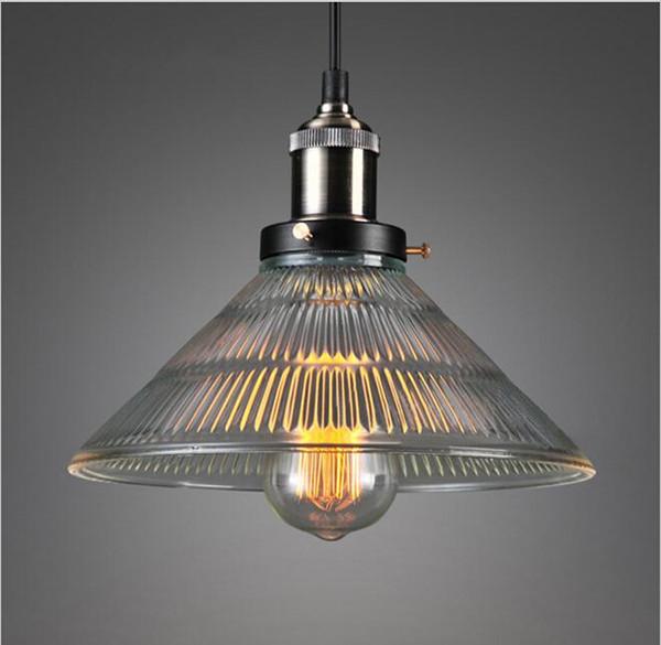 loft hanging lights art glass chandelier Vintage Antique Glass Pendant Lights Warm Iron + Glass Edison Pendant Lamps Fixtures